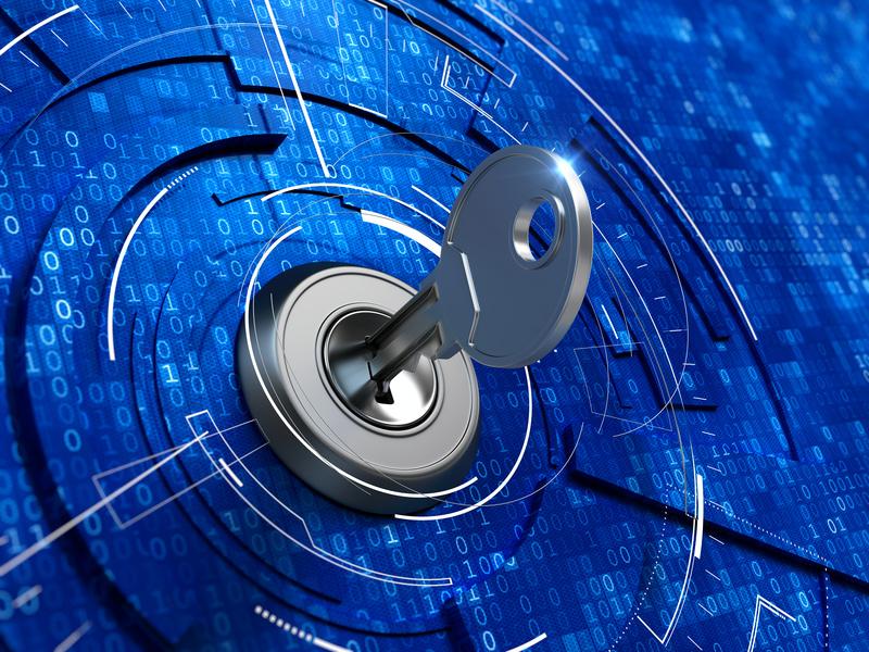Schlüssel Online-Rentenkonto